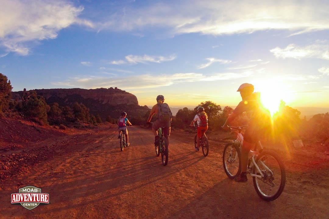 randonnée à vélo arches national park