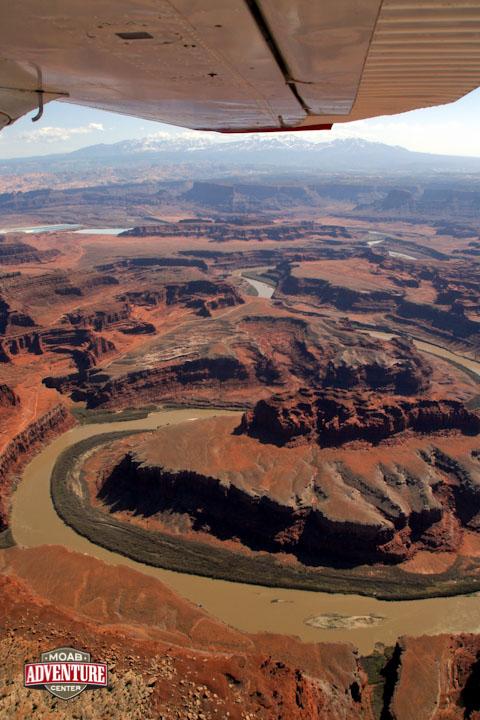 monument valley vue du ciel