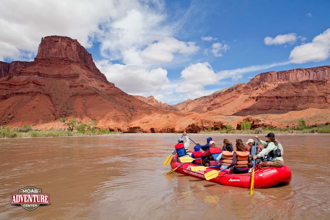 rafting sur la colorado river