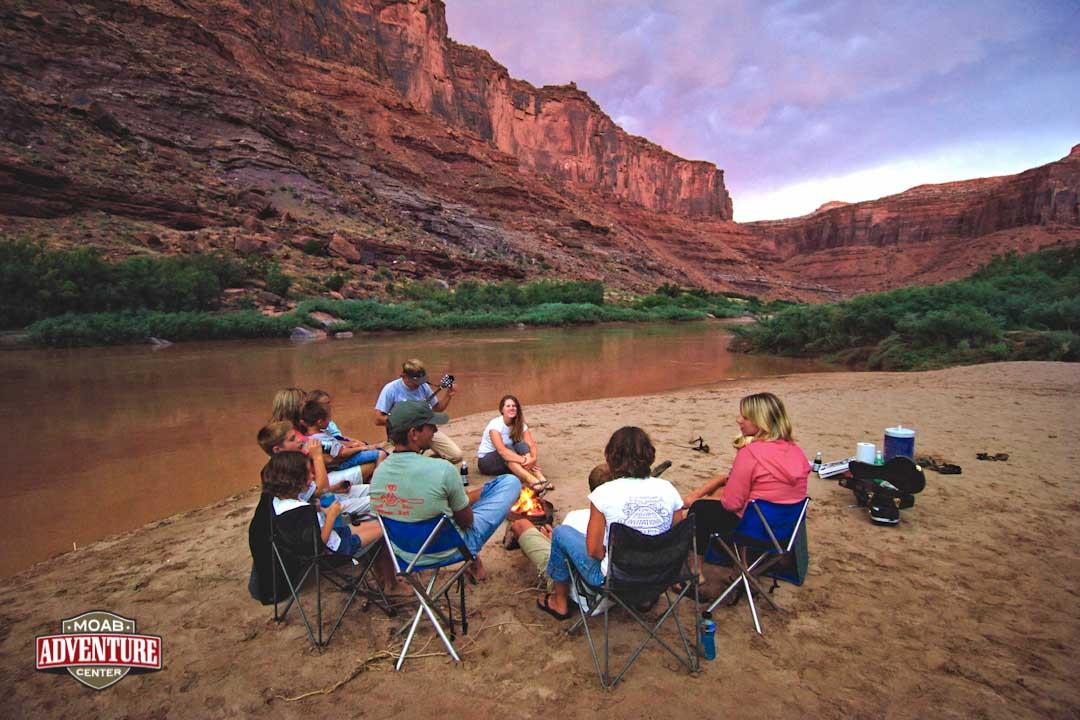 camping et rafting colorado river