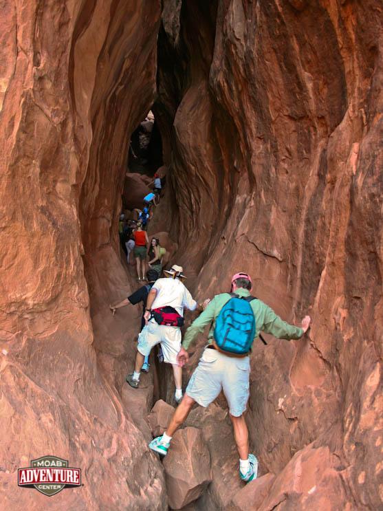 randonnée au coeur du canyon