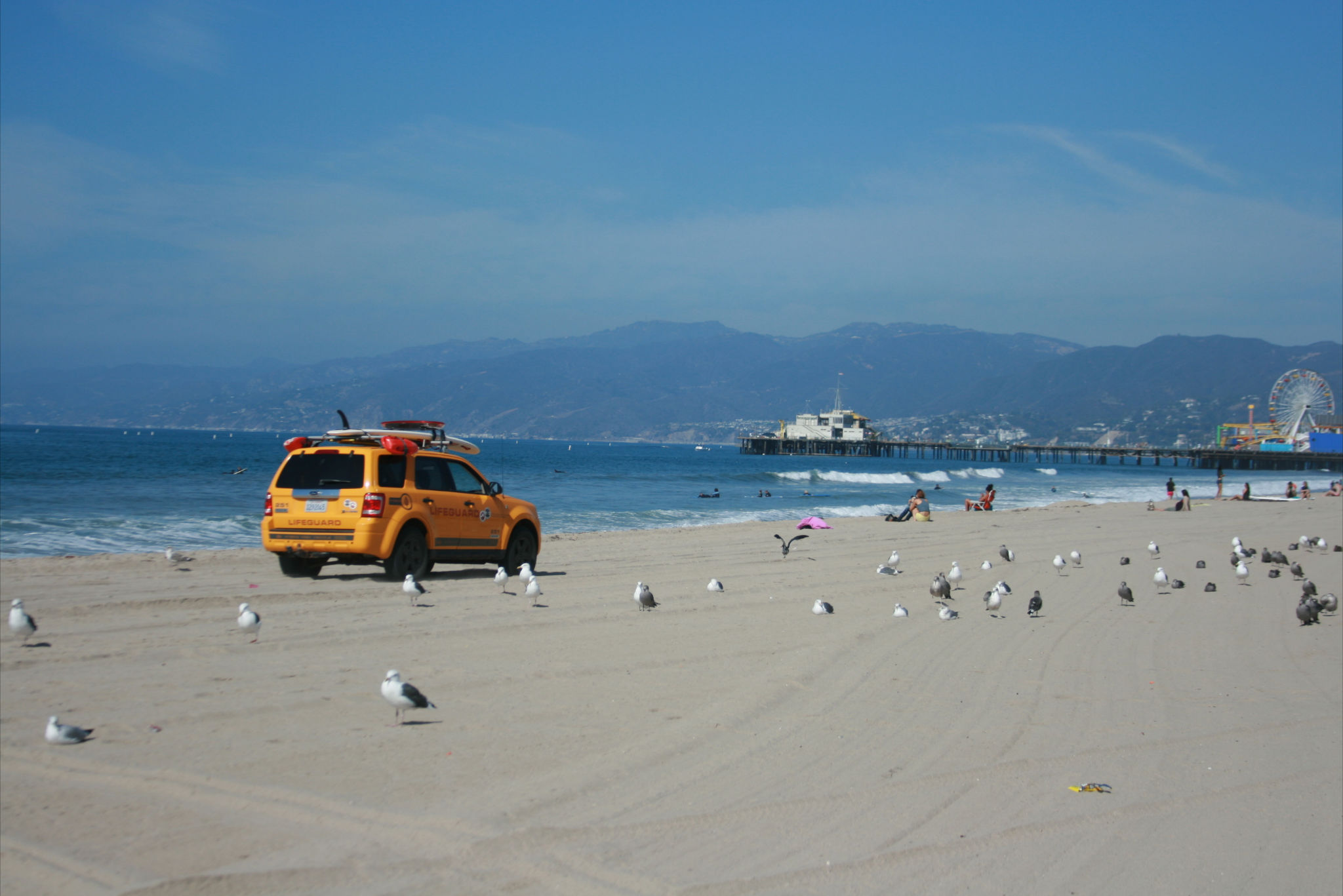 los angeles beach plage