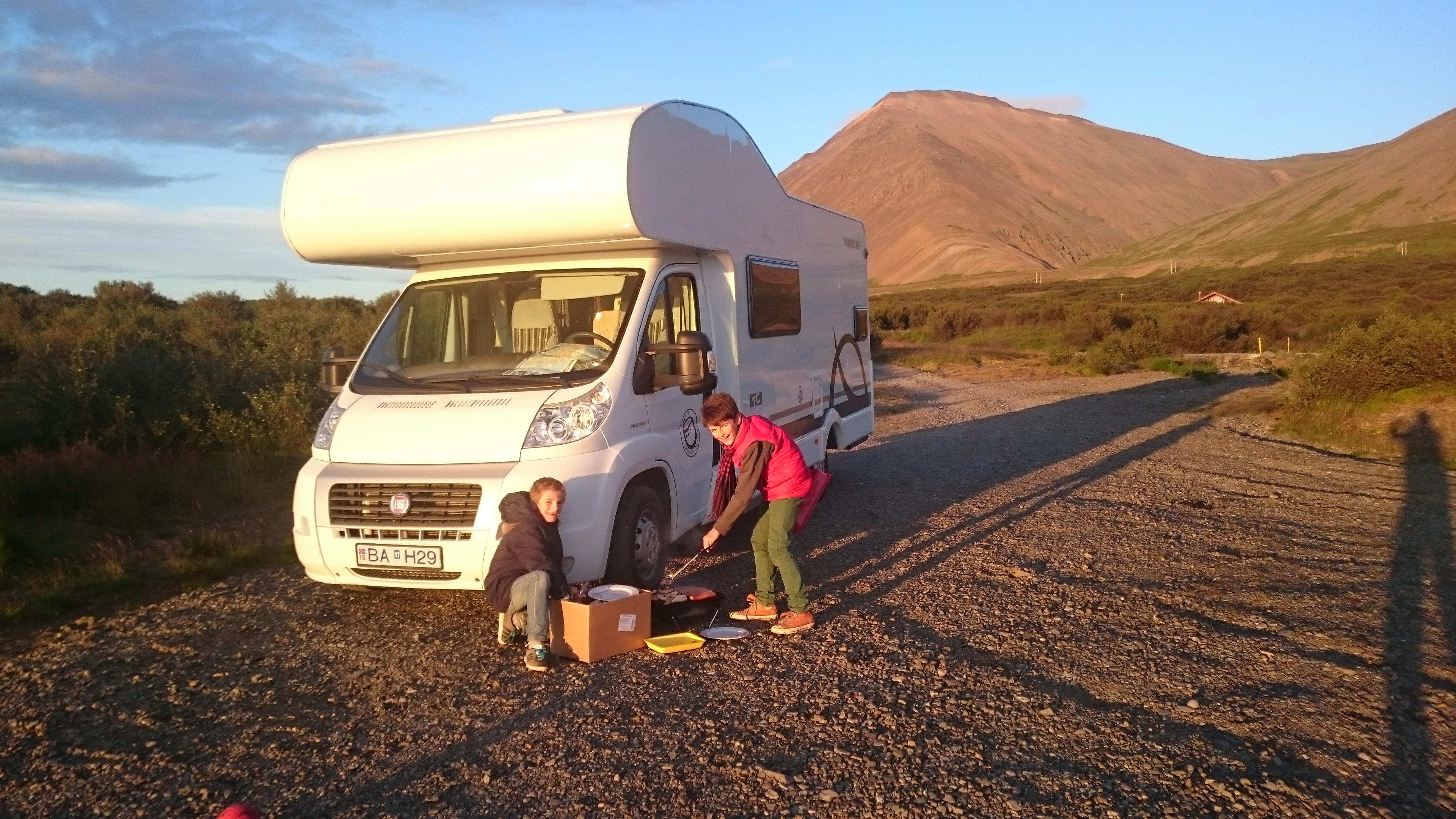 Réparation camping-car