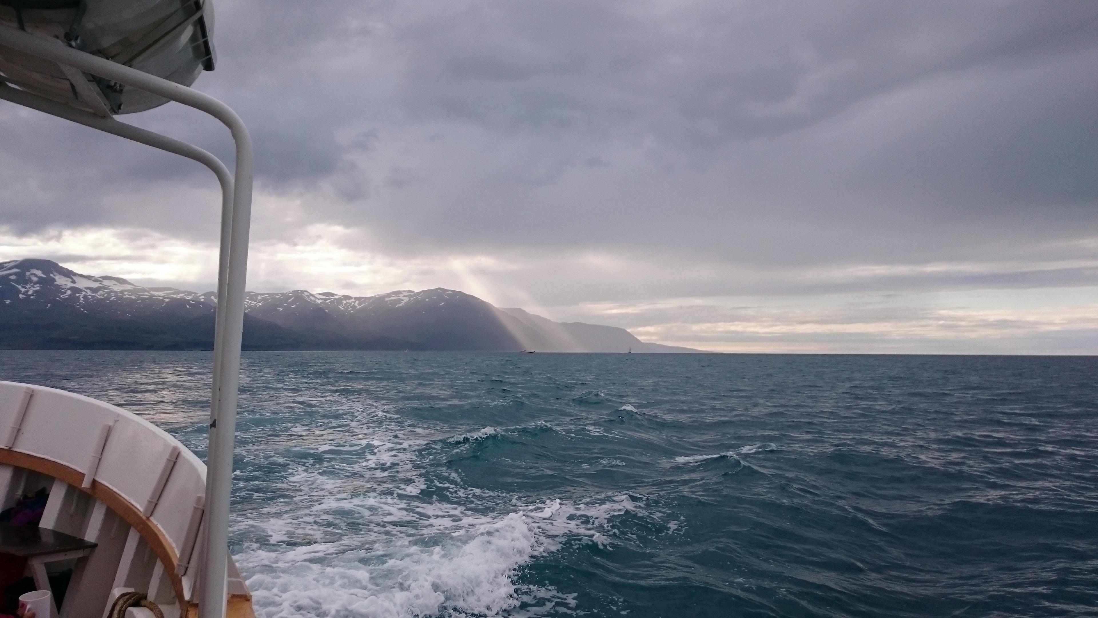 Soleil en mer voyage Islande en camping-car
