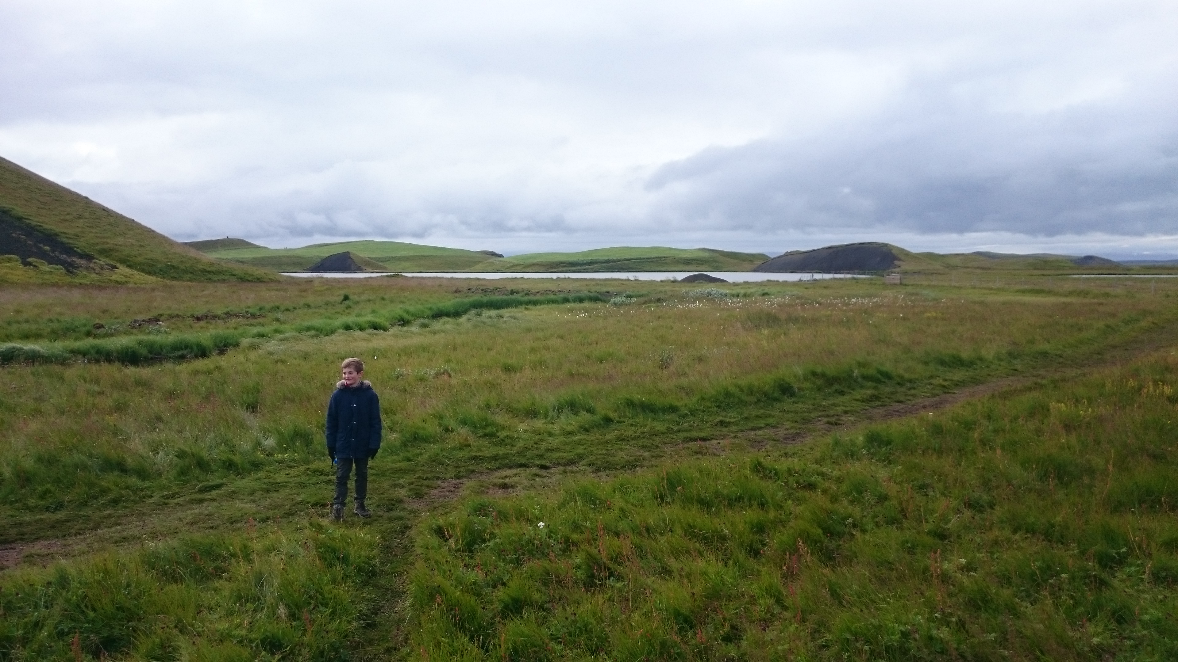 Panorama all green Islande en camping-car