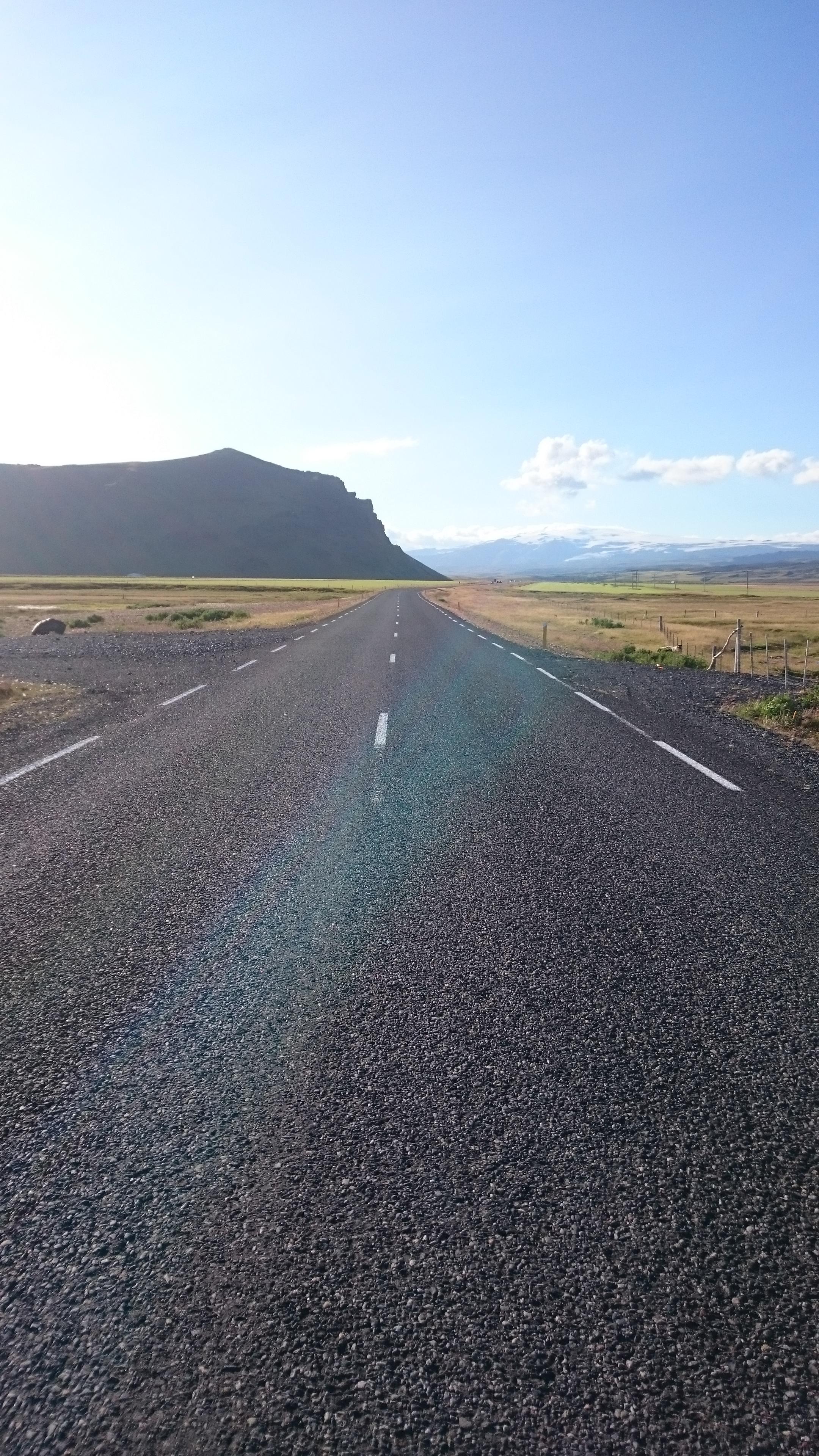 Route en camping-car aventure en Islande