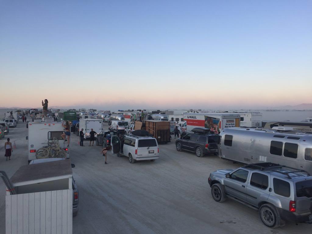 Arrivée Bruning Man Vans camping-cars