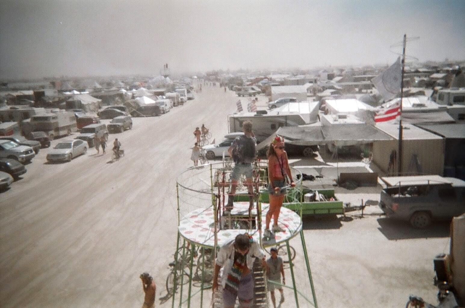 désert Burning Man art festival