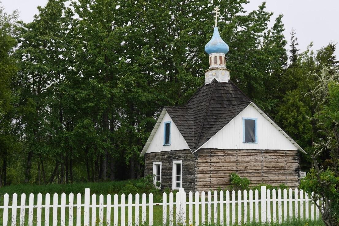 Eglise orthodoxe, étape roadtrip canada