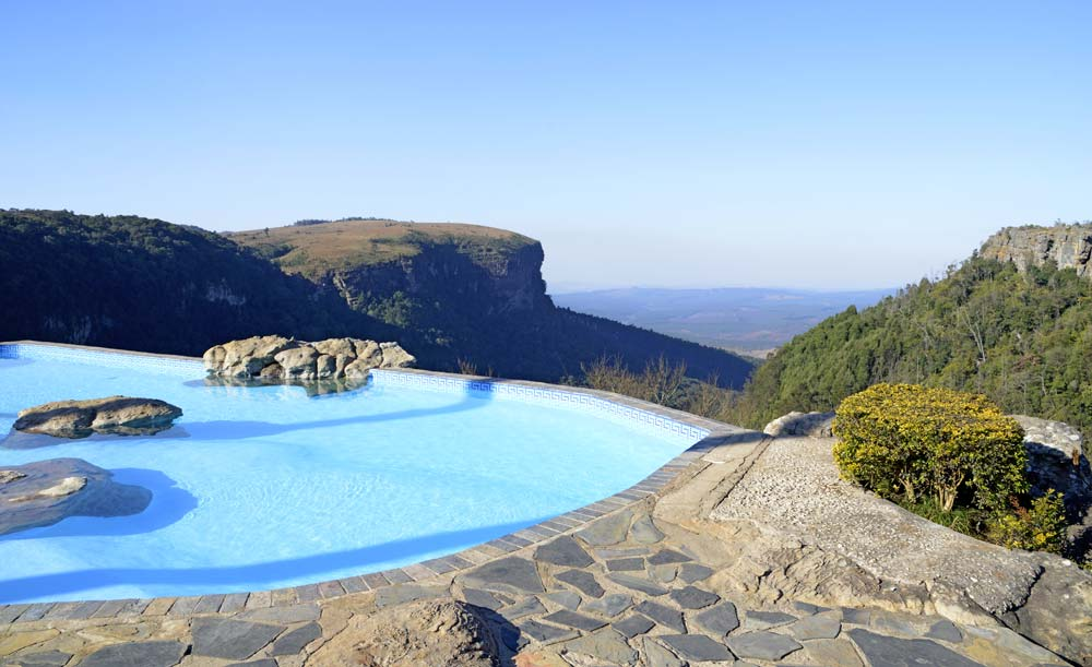 blyde river canyon panorma pool
