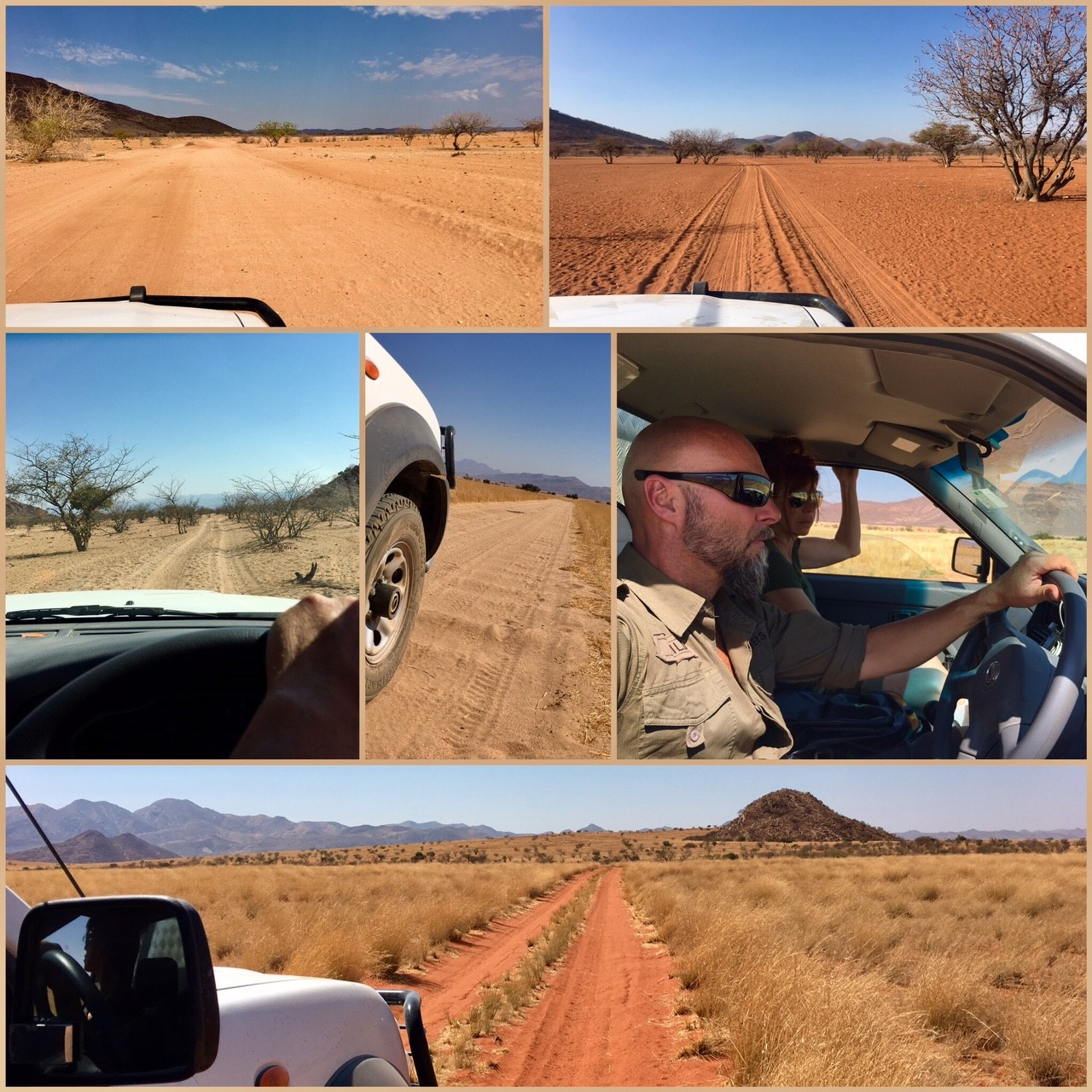 route Namibie 4x4 roadtrip