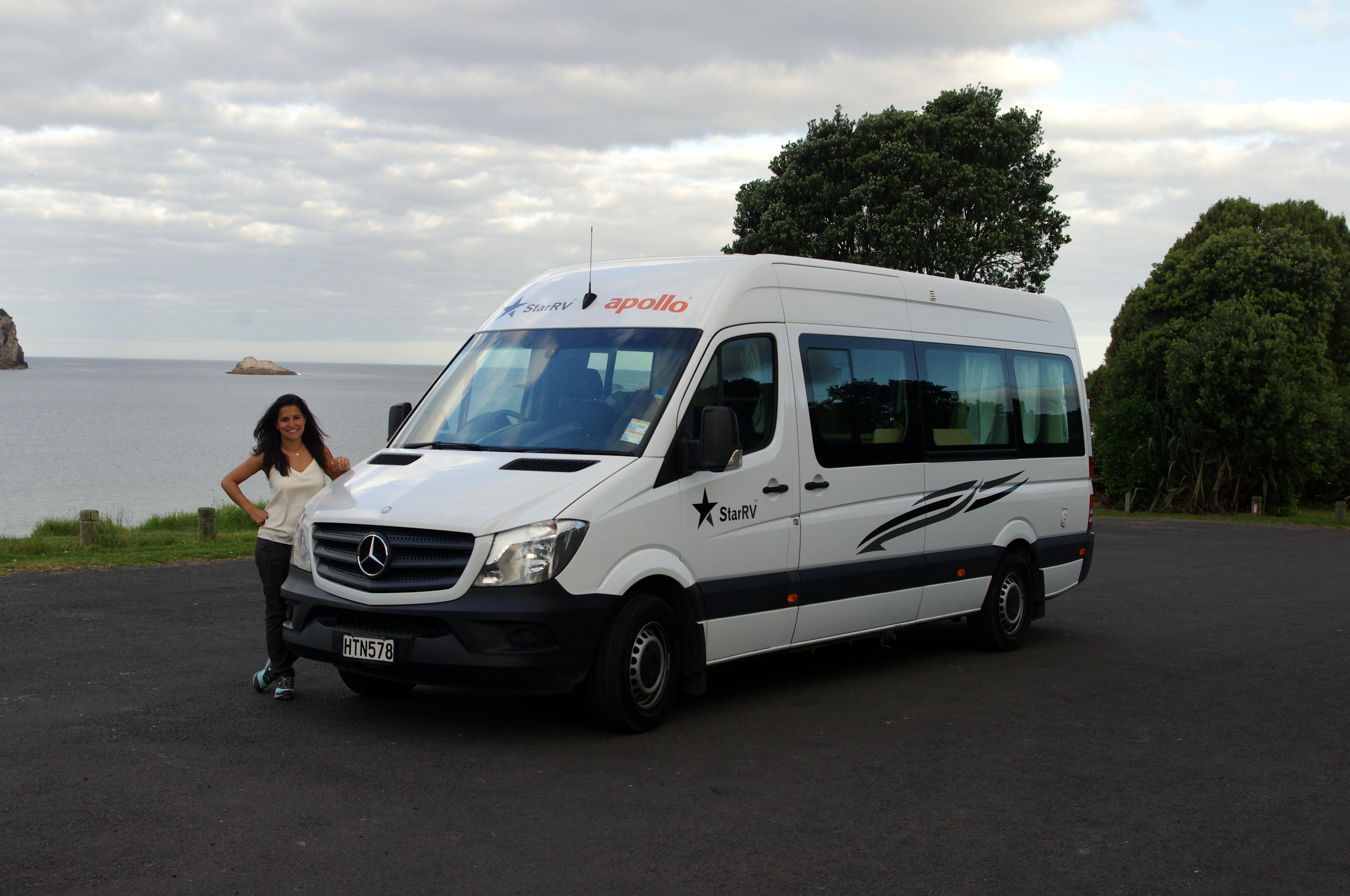profilé camping-car road trip nouvelle-zélande